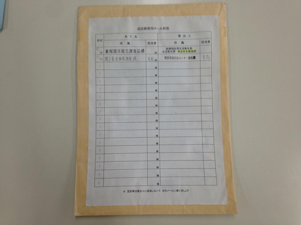 使用済み封筒のリユース   みんなで投稿 ごみ減量・リサイクルのアイデア紹介   福岡市事業系ごみ資源化情報発信サイト